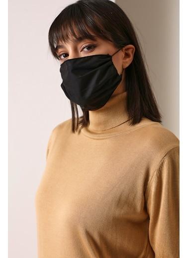 Gusto Kadın Siyah Koton Maske 21K5372103 Siyah